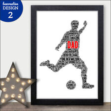 Fathers Day gift DADDY DAD GRANDAD BIRTHDAY Father's Personalised Print Gifts