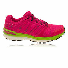 Adidas Supernova Sequence Boost 8 Womens Pink Green Sneakers Running Shoes