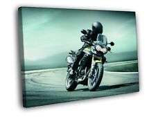 Triumph Tiger 800XC Bike Motorcycle FRAMED CANVAS Print