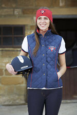 NEW Toggi GBR Rio Ladies Quilted Lightweight Fitted Gilet Waistcoat - FREE P&P