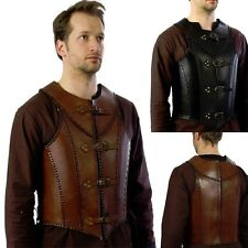 Quality Leather Veteran Armour. Perfect For Stage Costume & LARP. 2 Colours
