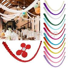 3M Hanging Paper Garland Chain Wedding Birthday Party Party Banner Decor
