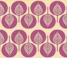 Spoonflower Tree Hearts Purple fabric by the yard in a variety of cotton