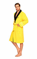 Star Trek Adult Captain Kirk / Scotty / Spock Peignoir Fleece Bathrobe Free Size