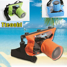 20M Waterproof DSLR Camera Underwater Housing Case Pouch Dry Bag For Canon Nikon