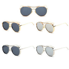 Fashion Metal Frame Aviator Sunglasses Thick Coating UV400 Eyewear Unisex