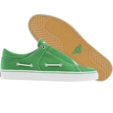 $80 Creative Recreation Luchese green ripstop boat fashion sneakers sz 8 8.5