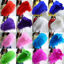"""Wholesale, 10-100pcs """"thick stem""""  male ostrich feathers 16-32 inches / 15-80 cm"""