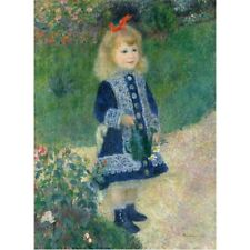 1876 Pierre-Auguste Renoir A Girl With A Watering Can French Painting Art Poster