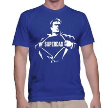 Shirt Super T Men Father's Day S Funny Tee Dad Tshirt Hero Gift Superdad Slogans