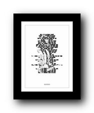 BRUCE SPRINGSTEEN Tougher Than The Rest ❤ song lyric poster typography Print #44