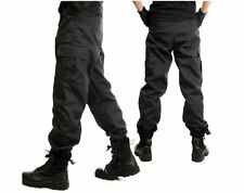 POLICE SWAT Tactical Assault Duty Gear Cosplay Military Hunting Pants,BK
