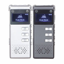 SK-818 Rechargeable 8GB Digital Audio Voice Recorder Dictaphone MP3 Player