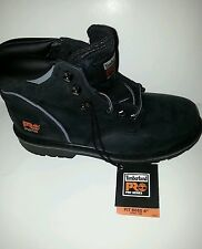 "MEN'S TIMBERLAND PRO PIT BOSS 6"" STEEL TOE WORK BOOTS 33032/BLACK OILED NUBUCK"