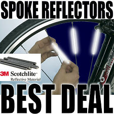 Spoke Reflectors Bright 3M Scotchlite Bike Wheel Bicycle Cycle Safety 1-72 SAFE