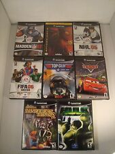 Nintendo GameCube Lot of 8 Games Complete with Manuals