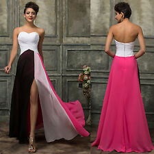 GK Masquerade Formal Long Evening Bridesmaid Gown Ball Cocktail Party Prom Dress