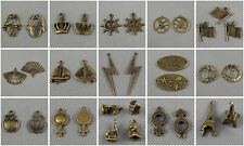 Jewelry Making Charms Basket Crown Rudder Flags Chinese Fan Sailboat Eiffel 35
