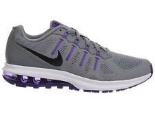 NEW WOMENS NIKE AIR MAX DYNASTY RUNNING SHOES TRAINERS COOL GREY / FIERCE PURPLE