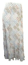 Marks & Spencer Pastel Floral Print Flippy Chiffon Maxi Skirt Lined Org Price £4