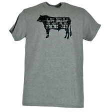 Prime Rib Meat Market Distressed Funny Mens Adult Comedy Cotton Shirt Tshirt Tee