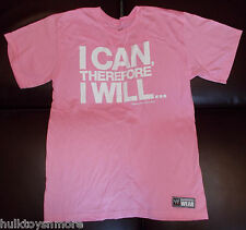 Damien Sandow I Can Therefore I Will Rise Above Cancer WWE New Mens T-Shirt