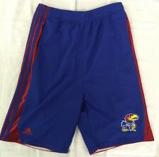 Kansas Jayhawks Adidas NCAA Youth Basketball Shorts