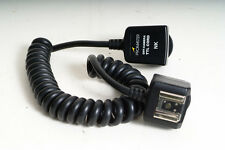 NIKON DSLR Promaster Deluxe TTL OFF CAMERA REMOTE FLASH CORD ~ Mint