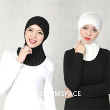 Amira Inner Caps Hats Head Cover maxi Cotton Muslim Hijab Islamic Underscarf