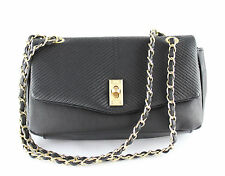 Fiorelli Women's Kassie Black Stitch Flapover Crossbody Bag Genuine BNWT FH8070