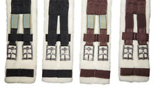 NEW Wool Lined Dressage Girth