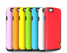 Innovation Wallet Credit Card Slot Case Bumper Cover for iPhone 5s SE 6 6s Plus