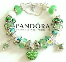 AUTHENTIC PANDORA CHARM BRACELET 925 Sterling Silver European Style Beads #25