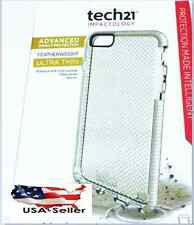 "NEW! Tech21 Evo Mesh Apple iPhone 6 /6s Case 4.7"" Cover Flex Shock WHITE CLEAR"