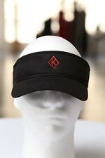Diamond K Klassic visor, black - sun golf running jogging - Alpha Phi Alpha