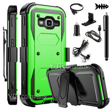 NEW Samsung Galaxy Grand Prime G530 Case Cover Kickstand With Clip Belt Holster