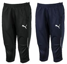 PUMA Men 3/4 Training Pants Dry-Cell Jersey Fitness Sports Running Soccer GYM