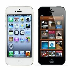 "Original Apple iPhone 5- 16GB  GSM ""Factory Unlocked"" Smartphone Black Silver"