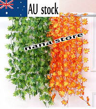 7.5ft-8.5ft Artificial Grape vine faux Leaf Ivy Garland Plant Fake Foliage decor
