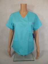 Med Couture Signature Scrub Top. Style 8403. Blue Crush *NEW* Free Shipping