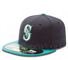 SEATTLE MARINERS 5950 Alternate Cap MLB Fitted Baseball Hat On Field New Era