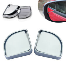 2 Car Rearview Blind Spot Side Rear View Mirror Convex Wide Angle 360°Adjustable