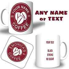 COSTA Coffee inspired Personalised YOUR NAME Printed Mug  FREE DELIVERY