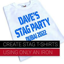 iron-on t-shirt transfer for stag party Ideas stag do's