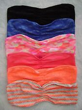Victoria's Secret Pink Lace Bandeau, MULTICOLOR