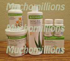Herbalife 4-IN-1 Digestive Health: Florafiber, Aloe, 21Day Cleanse, Active Fiber