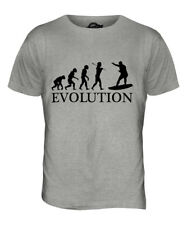 SURFER EVOLUTION OF MAN MENS T-SHIRT TEE TOP GIFT SURFING SURFBOARD