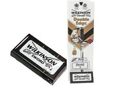 Wilkinson Men's Classic Double Edge Sword Razor Shaving Blades Barber Cut