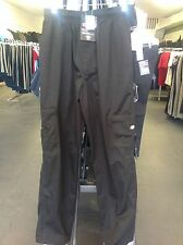 DC202 DICKIES CHEF PANTS DOUBLE ZIPPER CARGO POCKETS BLACK