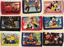 NEW CHILDREN'S TRI-FOLD WALLETS PARTY BAG FILLER FREE DELIVERY